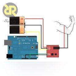 EMG module schematic