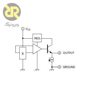 سنسور اثرهال نویز پایین UGN3503U