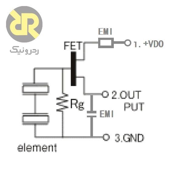 سنسور PIR تشخیص حرکت دو حسگر D204B
