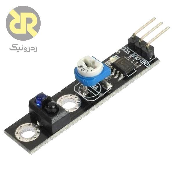 ماژول سنسور مادون قرمز دیجیتال با حساسیت قابل تنظیم TCRT5000