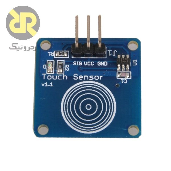 ماژول سنسور تاچ خازنی تک کانال TTP223B