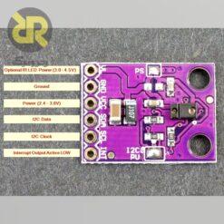 ماژول سنسور تشخیص اشاره، مجاورت و رنگ GY-9960-3.3