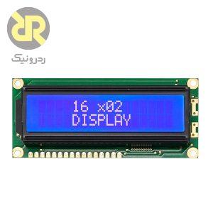 نمایشگر LCD کاراکتری 16X2 مدل 1602A-V1.2
