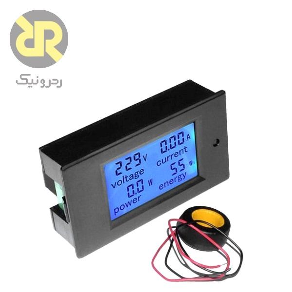 ولتمتر، آمپرمتر و پاورمتر AC دیجیتالی PZEM-061
