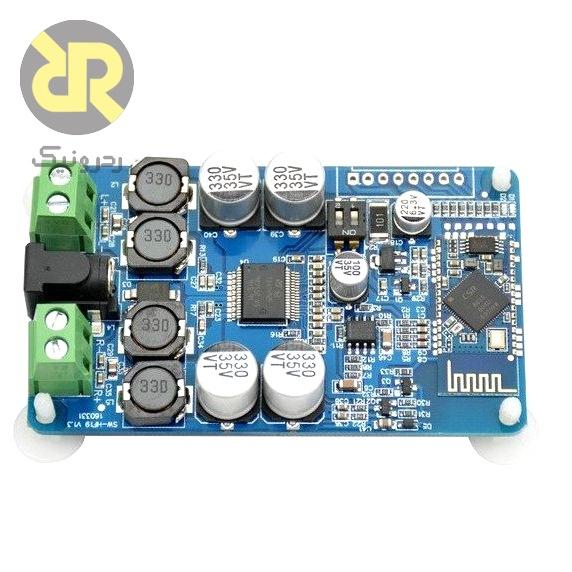 ماژول آمپلی فایر و پخش کننده صوتی بلوتوثی TDA7492P