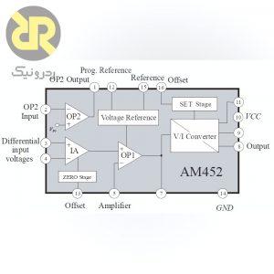 آی سی مبدل ولتاژ به جریان AM452