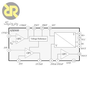 آی سی مبدل ولتاژ به جریان AM460