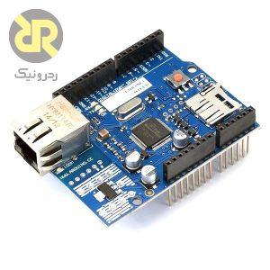 شیلد شبکه آردوینو Arduino Ethernet Shield W5100 V1.0
