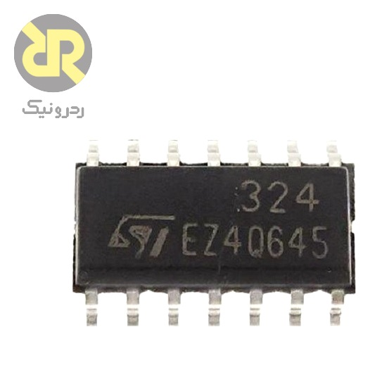 آی سی تقویت کننده عملیاتی LM324DT