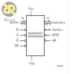 آی سی حافظه Flash M29W800AT