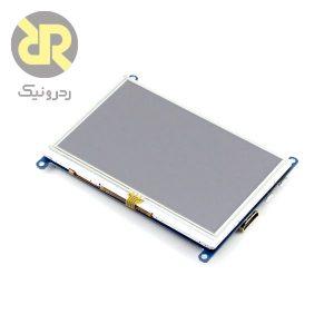 نمایشگر رسپبری پای waveshare 5 inch Touchscreen