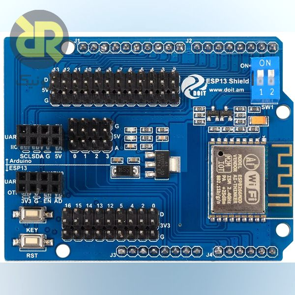 شیلد آردوینو وایفای ESP8266 Web Server