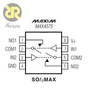 آی سی سوئیچ آنالوگ MAX4576