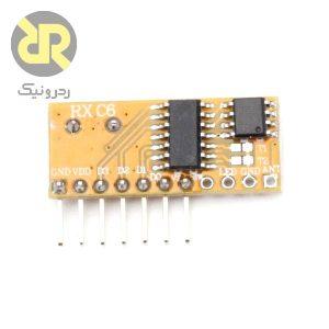 ماژول گیرنده رادیویی کد لرن RXC6