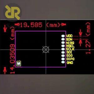 ماژول فرستنده گیرنده رادیویی 470 مگاهرتزی SI4432