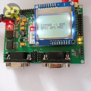 برد توسعه ماژول جی اس ام SIM908