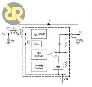 رگولاتور سوئیچینگ افزاینده کاهنده MC33463H–50LT1