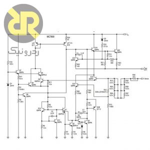 رگولاتور 24 ولت MC7824C