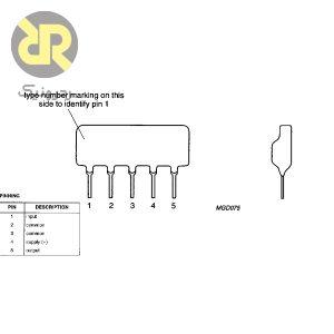 آی سی تقویت کننده مخابراتی OM2045