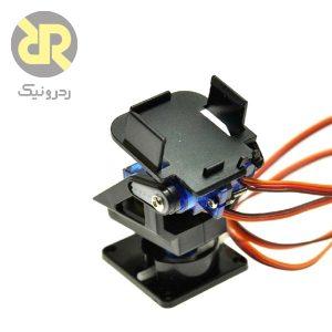 براکبراکت دوربین (گیمبال) دو محوره سازگار با سروو SG90ت نگهدارنده سروو موتور دو محوره