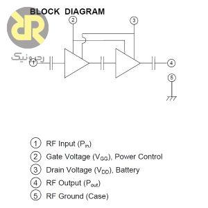 ماژول تقویت کننده مخابراتی RA07M3340M