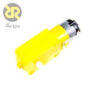 موتور گیربکس زرد دو طرفه redmot3120s