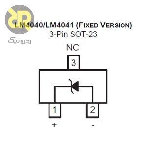 آی سی ولتاژ رفرنس LM4040CYM3-2.5