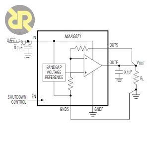 آی سی ولتاژ رفرنس دقت بالا MAX6071