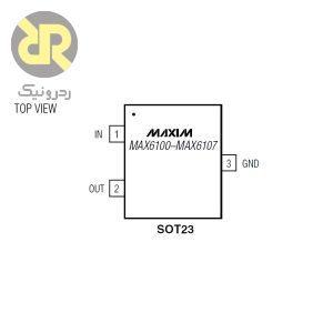 آی سی ولتاژ رفرنس MAX6106EUR-T
