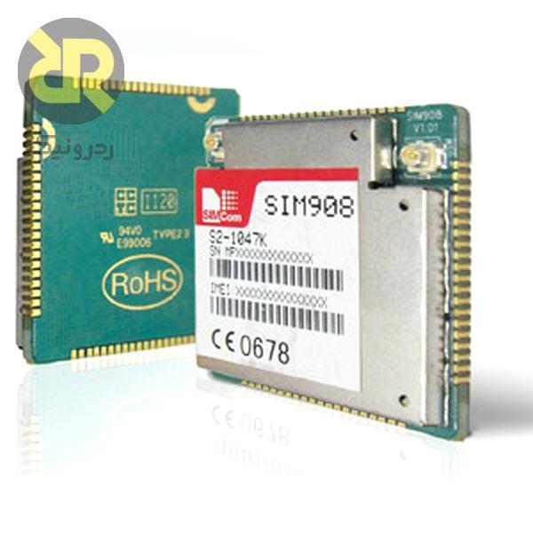 ماژول جی اس ام و جی پی اس SIM908