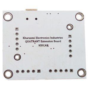 برد توسعه AHRS مدل QUATRANT Extention bord