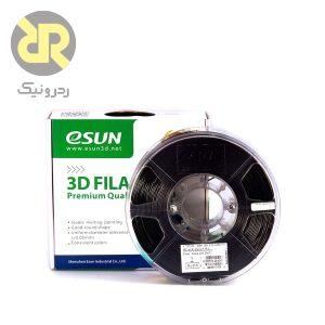 فیلامنت سیاه PLA پرینتر سه بعدی برند eSUN,