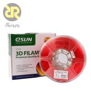 فیلامنت قرمز PLA پرینتر سه بعدی برند eSUN,