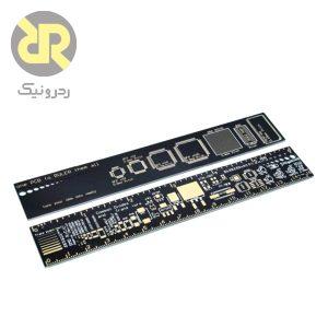 خطکش PCB شامل پکیج انواع قطعات SMD الکترونیکی