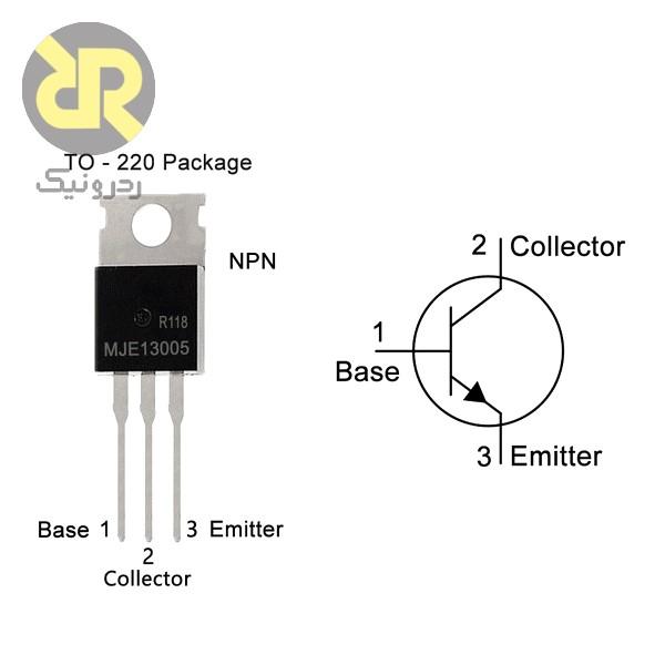 ترانزیستور MJE-13005 نوع NPN