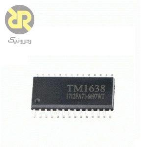 آی سی درایور LED و سون سگمنت TM1638
